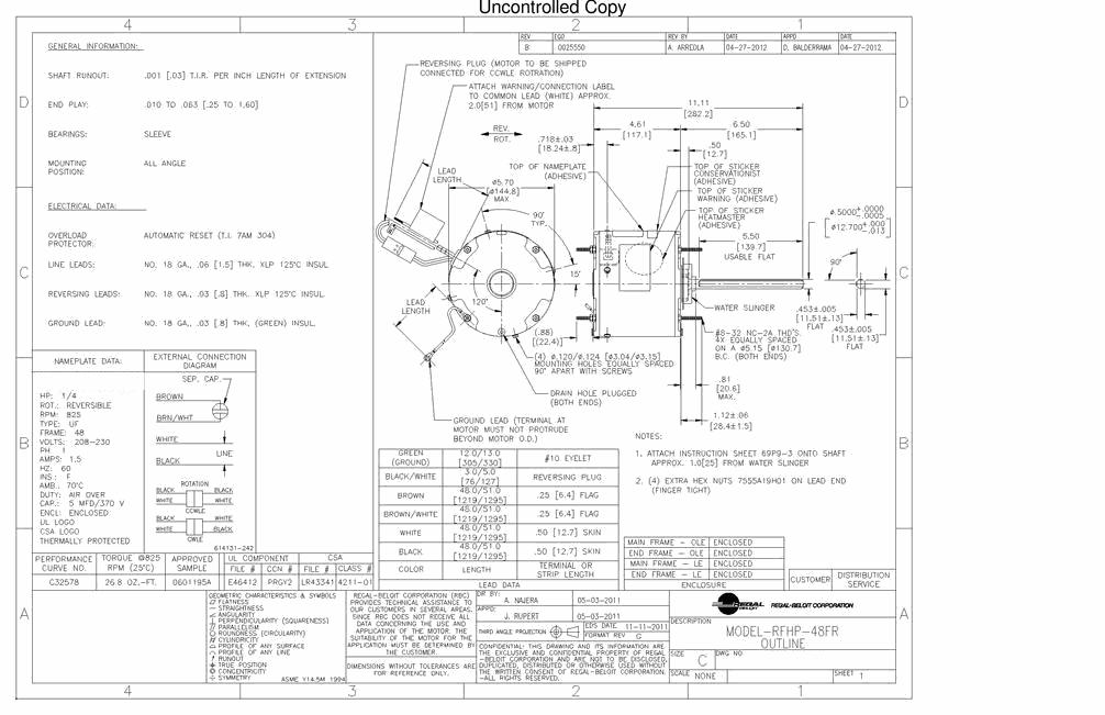 A O Smith F G A Wiring Diagram on