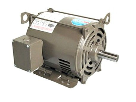 E301, AO Smith, 10HP, 230/460V, Three Phase ODP General Purpose Motor