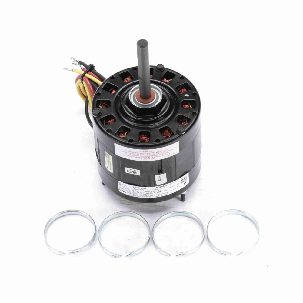 F42C52A45, AO Smith (now Century), 1/5HP, 208-230V,  Armstrong / Ducane Condenser Fan Motor