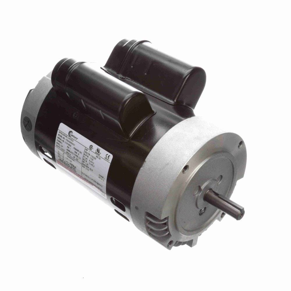 113655, AO Smith, 1HP, 115/230V, Cap Start Motor