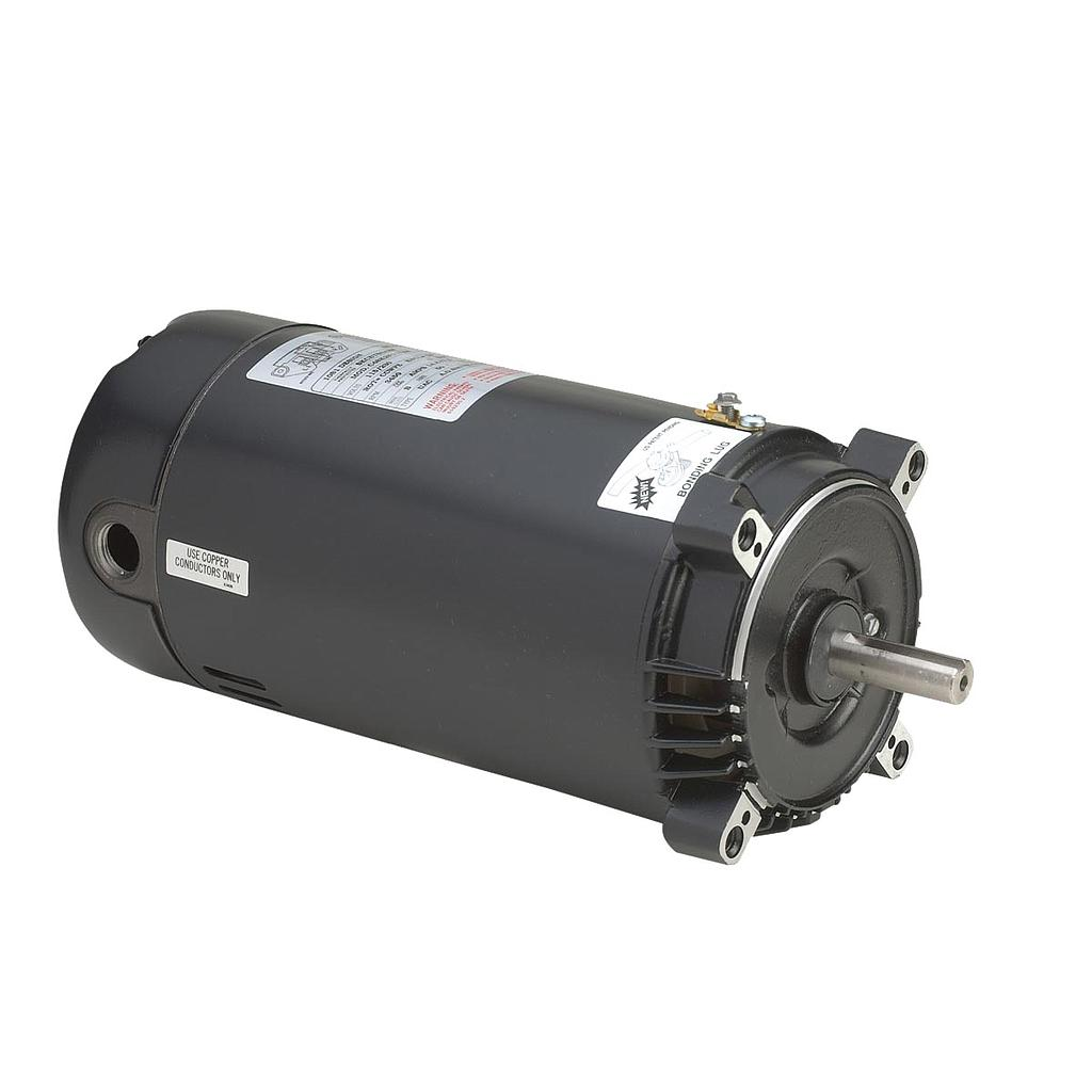 110242, Leeson, 1HP, 115/230V, C-Face Replacement Pool Motor